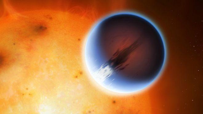 El planeta con vientos más rápidos que el sonido (Ciencia) 151116161832_exoplaneta_624x351_universidaddewarwick_nocredit