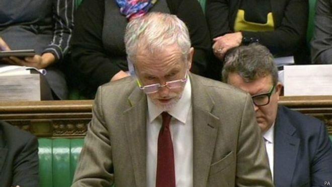 英國工黨領袖不支持英國空襲伊斯蘭國