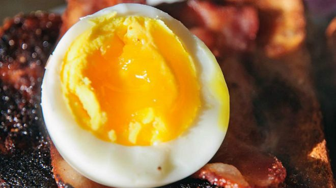 Яйцо с беконом
