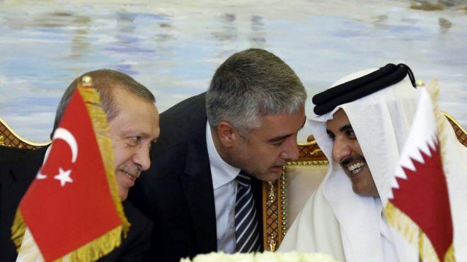 эрдоган в катаре