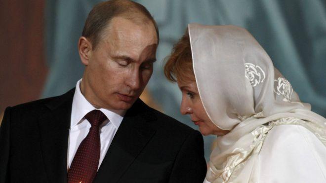 Vladimir Putin e Lyudmila | Foto: Reuters