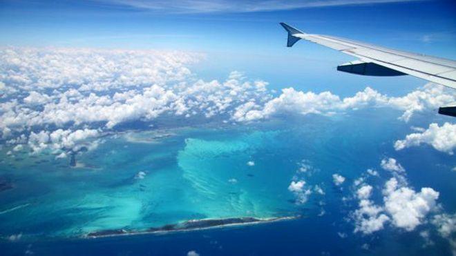 Vista aérea de Cuba