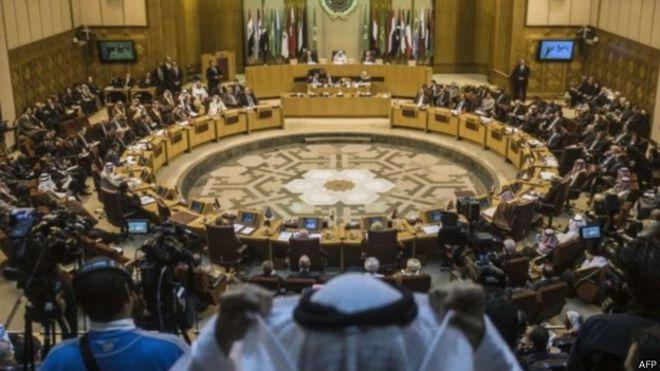 अरब लीग के विदेश मंत्रियों की बैठक