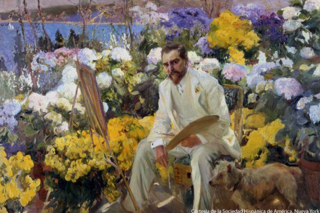 "Joaquín Sorolla, ""Louis Comfort Tiffany"", 1911"