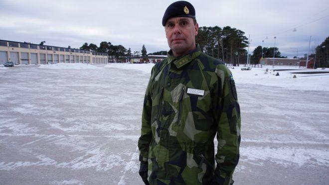 A Ilha Sueca Onde a Guerra Fria Está Renascendo