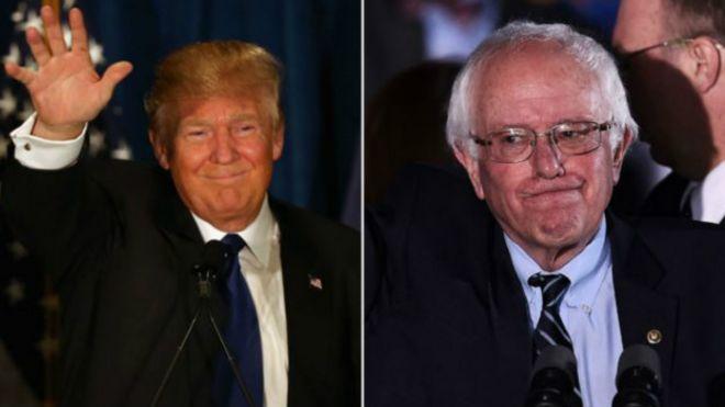 EE.UU.: contundente victoria de Donald Trump y Bernie Sanders en las primarias de New Hampshire