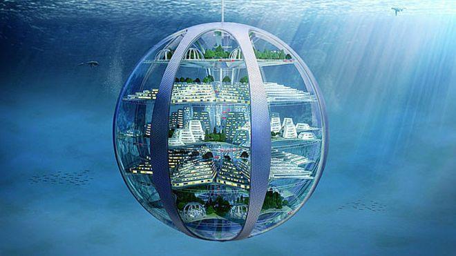 Cidades submarinas e arranha-céus subterrâneos: a vida dentro de 100 anos