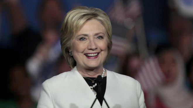 美国总统候选人希拉里