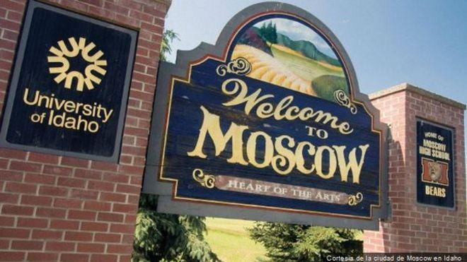 Москва в штате Айдахо