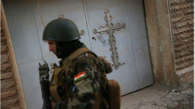 A milícia cristã que se inspira em Jesus para combater o Estado Islâmico