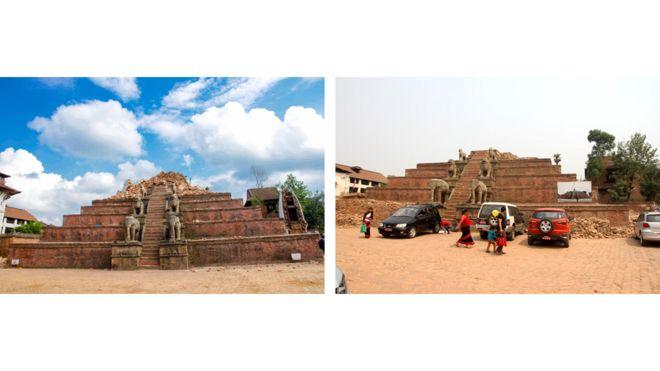 храм Шилу Махадев, Bharat Bandhu Thapa