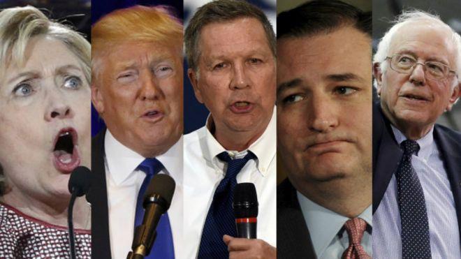 Candidatos a la nominación electoral