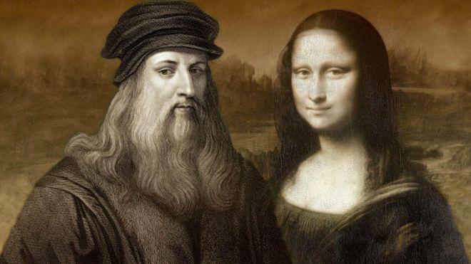 Leonardo da Vinci y su Monalisa