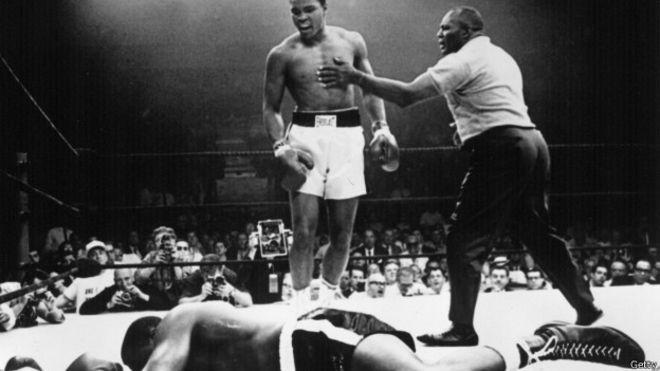 Trận đấu giữa Ali và Liston