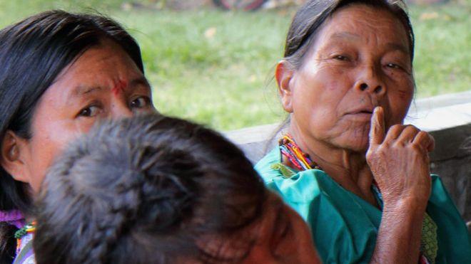 Mujeres Embera
