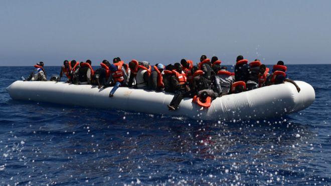 El estrecho del Mar Meiterráneo que separa a Libia de Italia se cobró la vida de miles de migrantes.