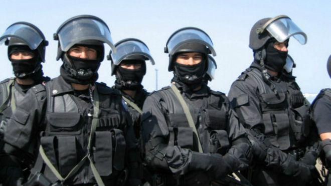 Казахстанский спецназ