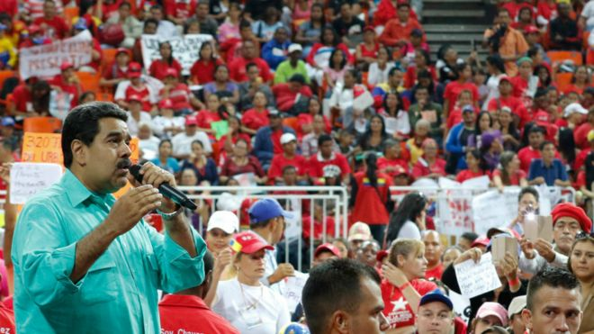 委内瑞拉危机:总统马杜罗称今年无公投
