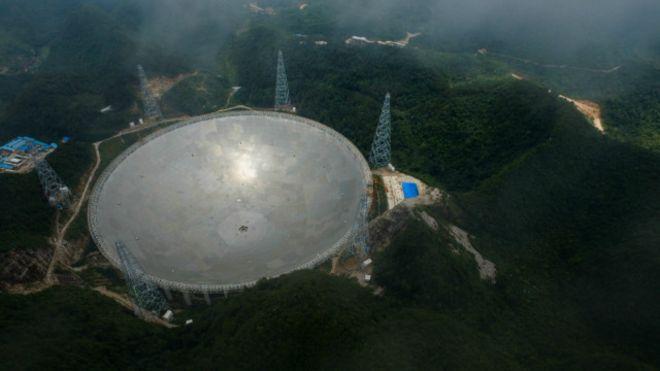 Thiết bị viễn vọng khổng lồ của Trung Quốc là một phần của tham vọng đưa nước này trở thành cường quốc về khoa học.