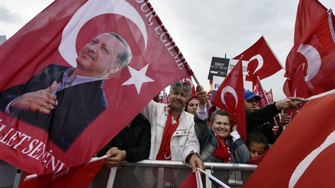 محكمة ألمانية تحظر بث خطاب لأردوغان موجه إلى أنصاره في كولونيا