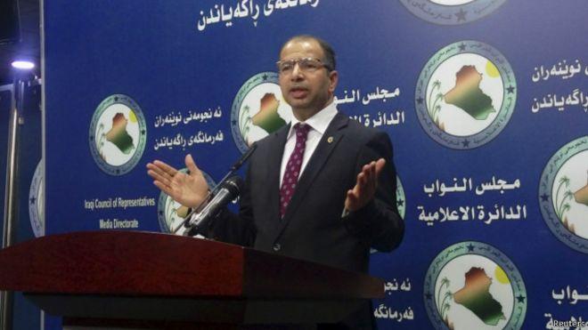 برلمان العراق يرفع الحصانة عن رئيسه للتحقيق في اتهامات بالفساد