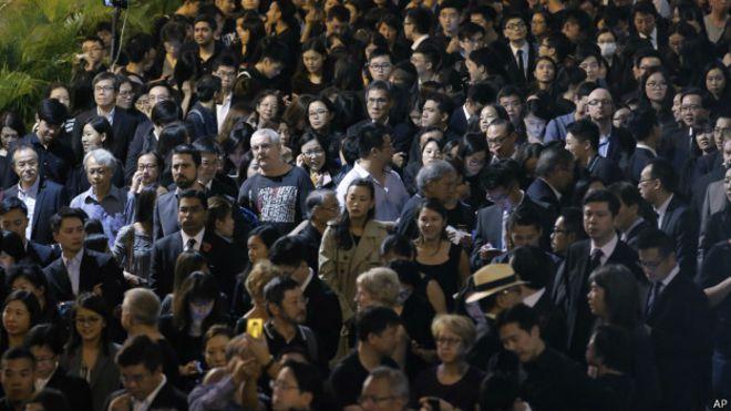 香港法界人士示威