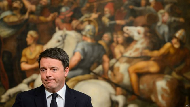 意大利修宪公投失败 总理伦齐宣布辞职