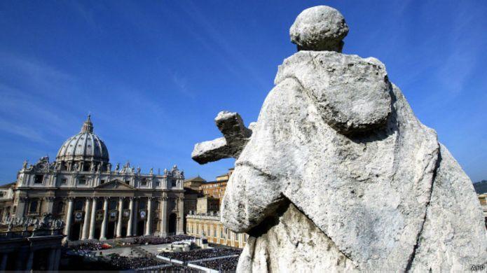 Detalhe do Vaticano