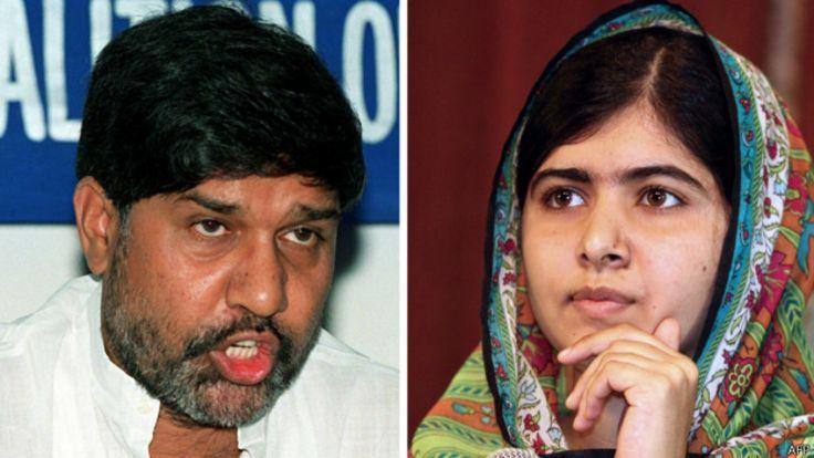 Кайлаш Сатъярти и Малала Юсуфзай