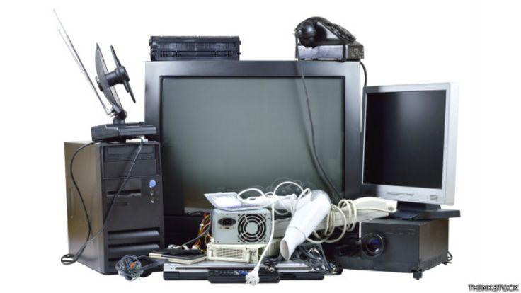 Algunos aparatos que se quedaron obsoletos.