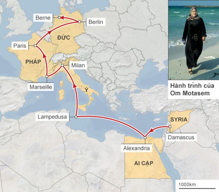 Hành trình của Om Motasem