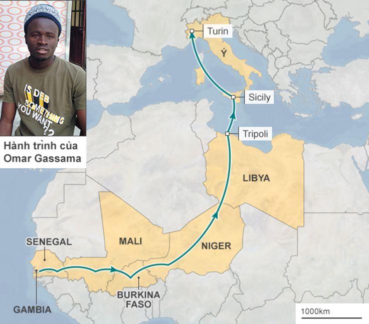 Hành trình của Omar Gassama