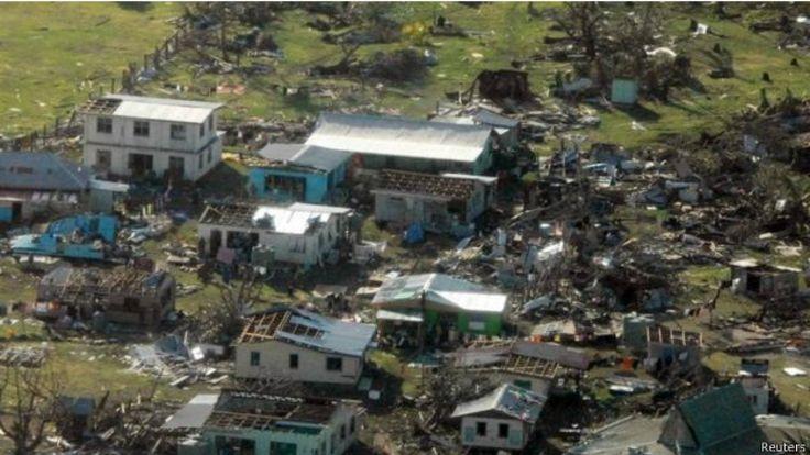 邊遠地區遭受的破壞特別嚴重。