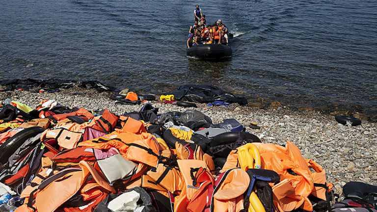 Migrantes, Grecia