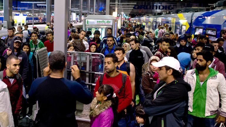 Migrantes, Múnich