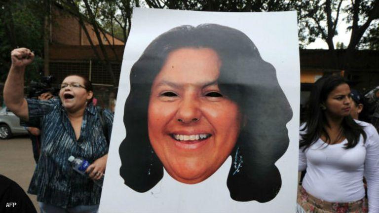 Protestas en Honduras por el asesinato de la activista Berta Cáceres