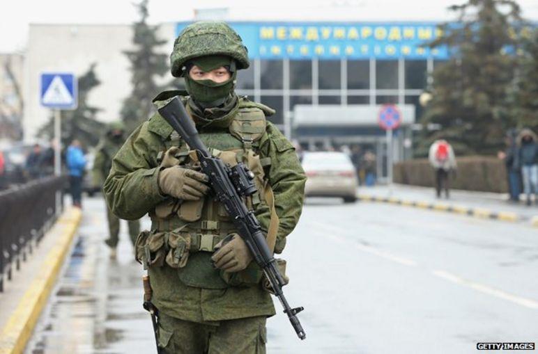 Soldado en Crimea