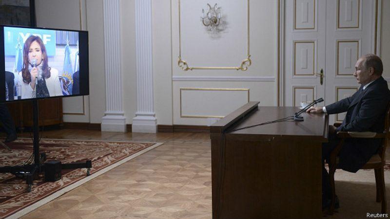 Putin, Cristina