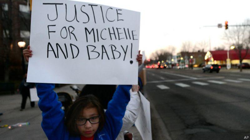 Michelle Wilkins embarazada bebé justicia