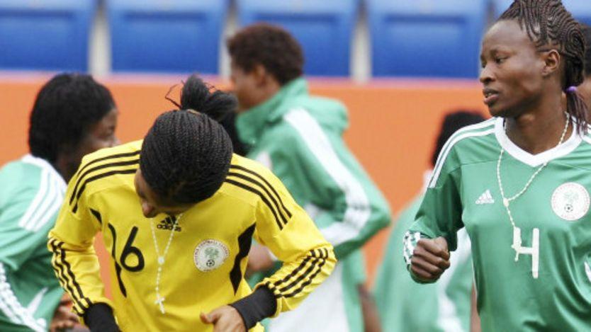 L'équipe de football féminine nigériane