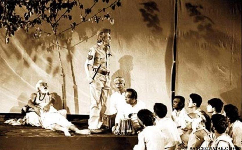 हबीब तनवीर के मशहूर नाटक 'चरण दास चोर' का एक दृश्य