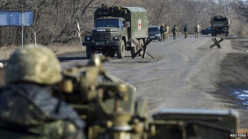 Tensión en Ucrania del este