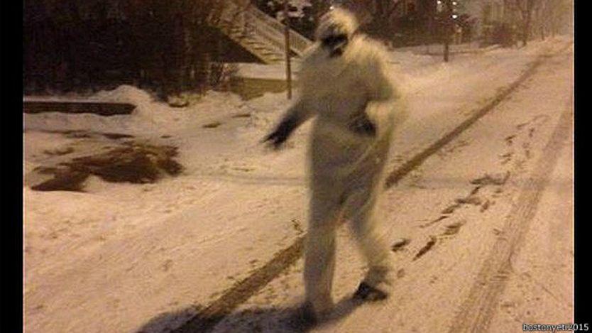 Yeti en Boston