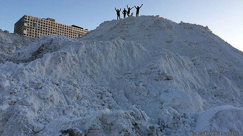 Montaña de nieve del MIT