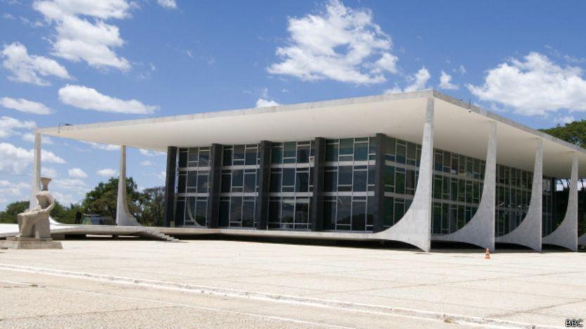 Sede del Supremo Tribunal Federal brasileño.