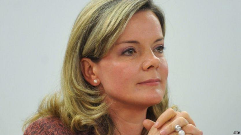 Ex ministra brasileña Gleisi Hoffmann