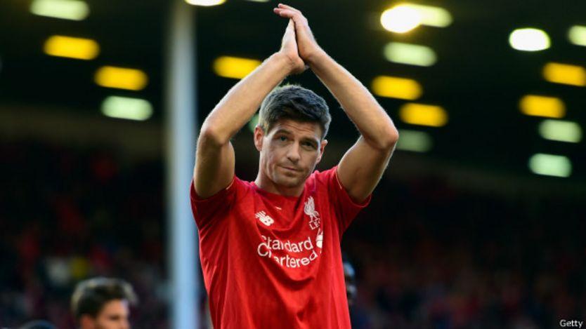 Steven Gerrard se despide de Anfield
