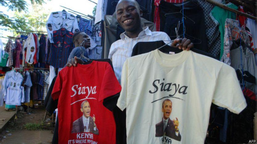 Vendedor de camisetas
