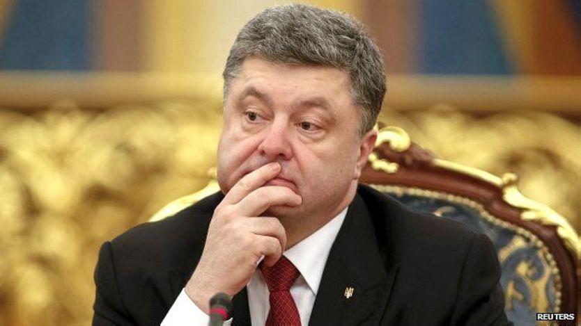 Presidente de Ucrania, Petro Poroshenko