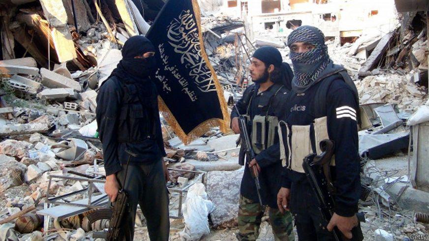نیروهای جبهه نصرت در یرموک